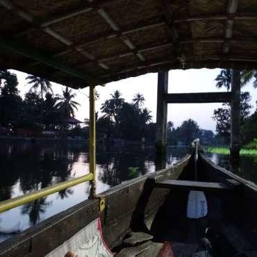 Balade matinale dans les Back Waters