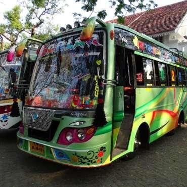 Bus indiens