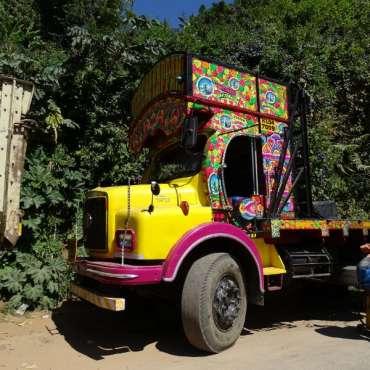 Camion multi color