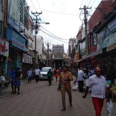 Madurai autour du temple